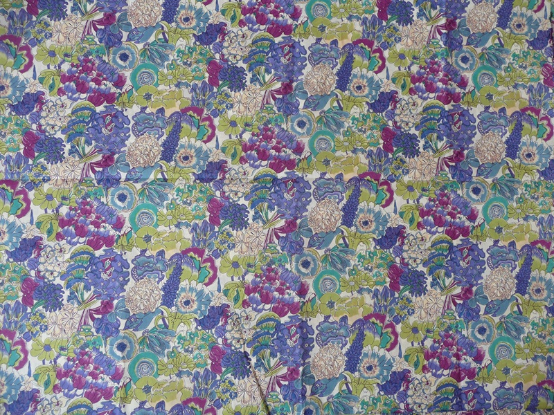 Fabric detail: Cathryns by Liberty again, in different colours