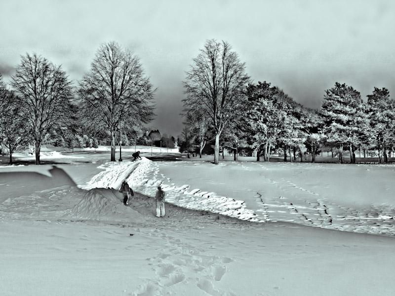 2nd (tie) Winter Wonderland - Tom Frisch