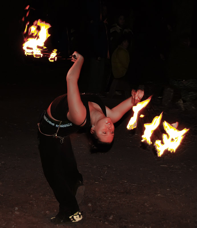 Fire Dancer - Tom