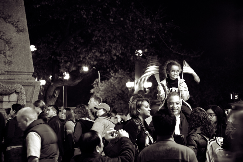 Grant Park Chicago Election Night