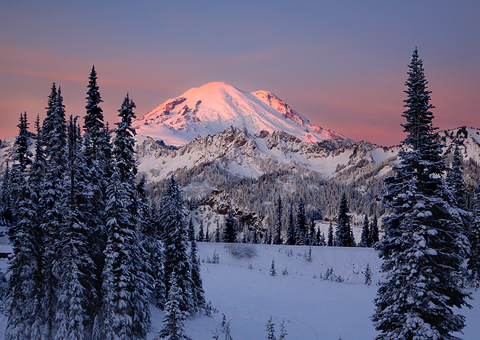 Mt. Rainier Sunrise Chinook Pass