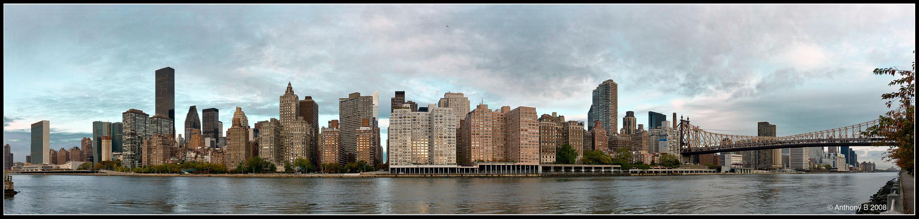 Manhattan East Side Dawn