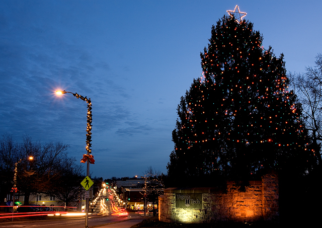 Bethlehem Lights Slim Christmas Tree