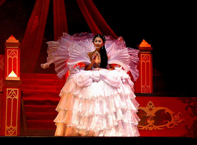 Cabaret performer