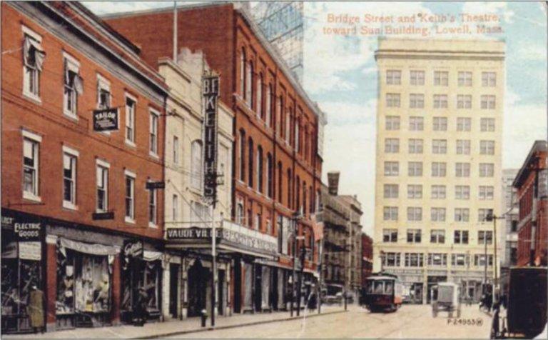 Keiths Theatre on Bridge St.