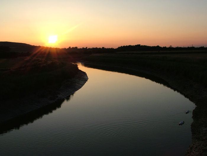 Sunset - River Adur - 019.2828cljpg