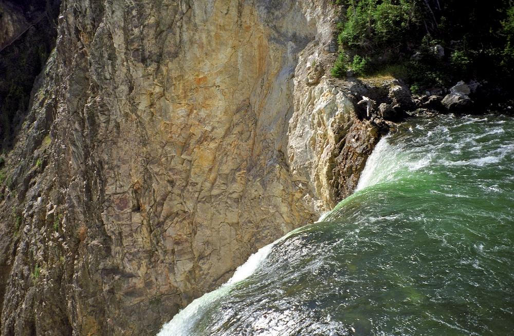 Lower Yellowstone falls, Wyoming