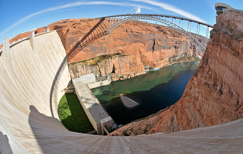 Glen Canyon Dam & Bridge