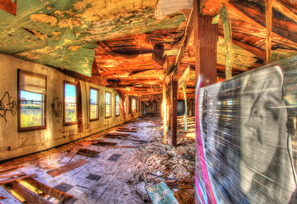 Abandon Barracks Mare Island