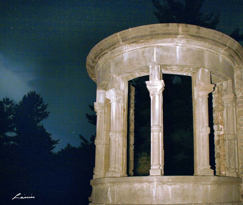 ruins 5659 light painting