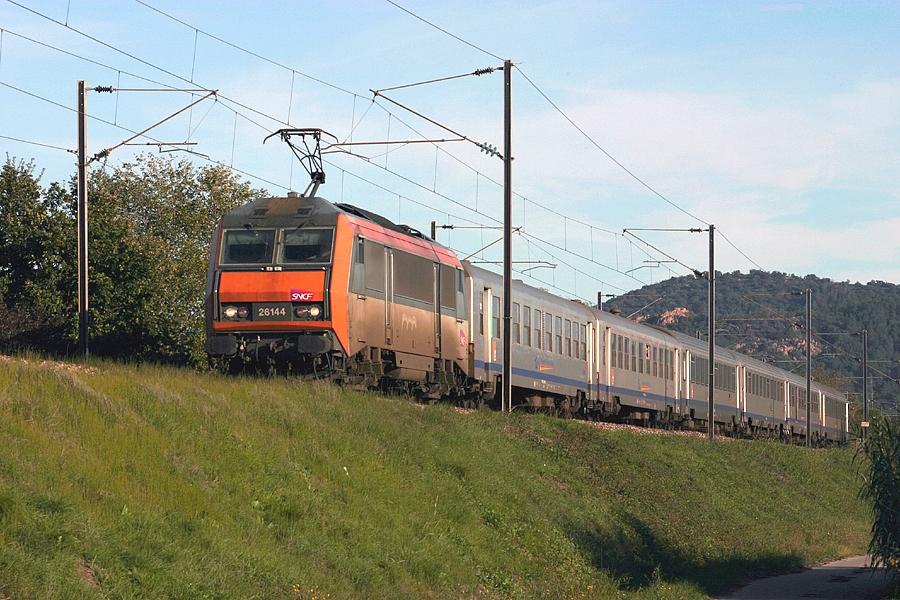 The BB26144 near Les Arcs-Draguignan.