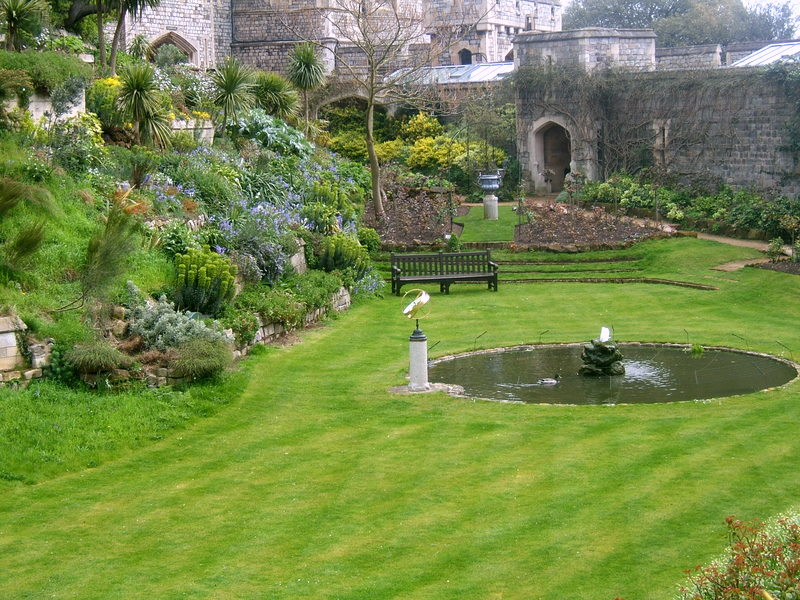 Windsor Castle Moat aka the governors garden