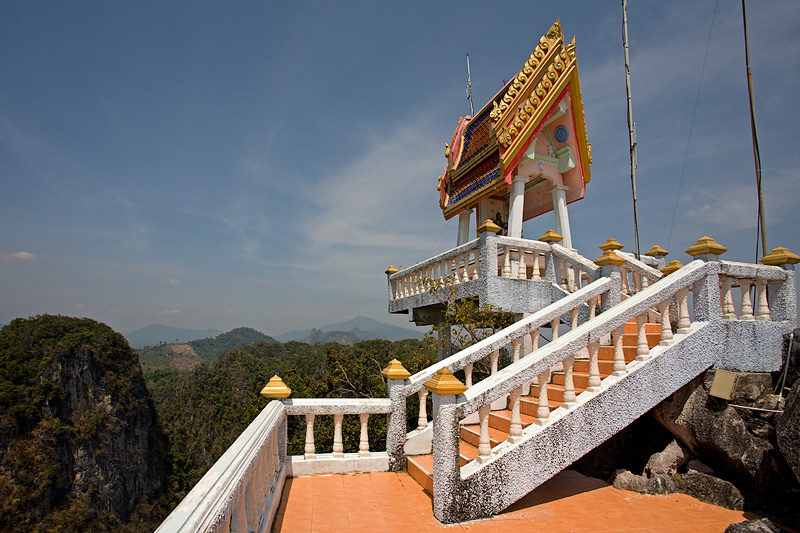 Tiger Cave Temple (Wat Tham Sua): Uphill View