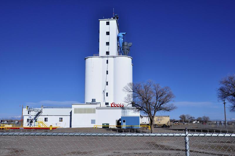 Monte Vista, CO grain elevator.