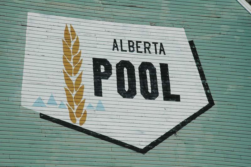 Alberta Wheat Pool logo-Kirriemuir, AB