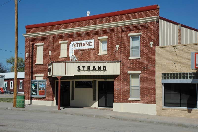Strand Theater-Sharon Springs, KS