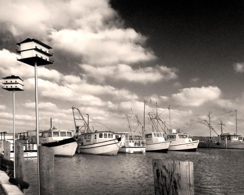 Fishing Boats in Seadrift, Texas