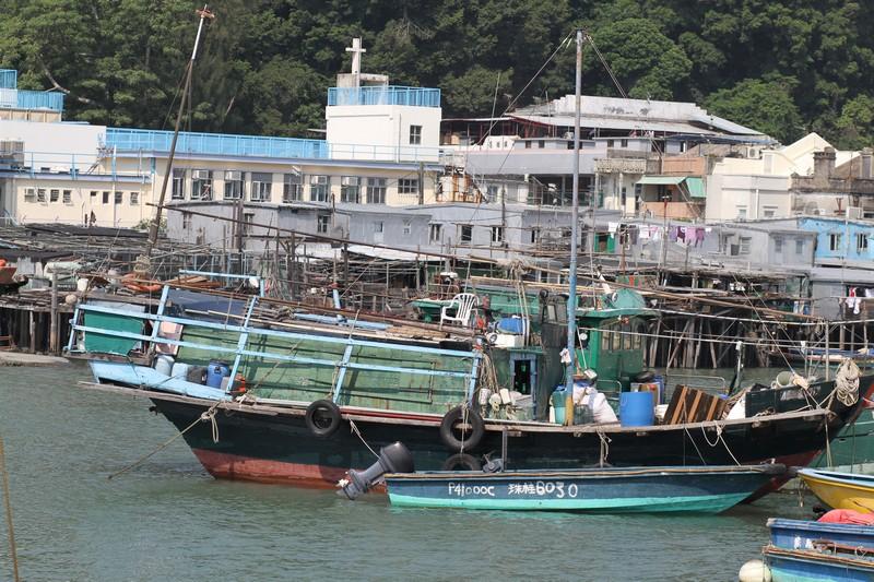 fishing boat/junk