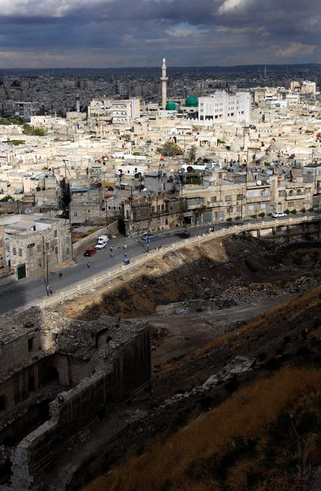 Over Aleppo
