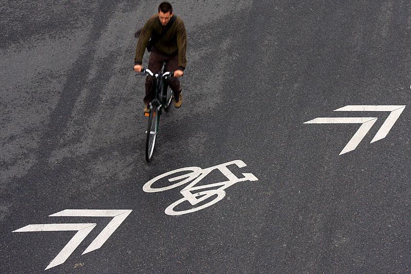 Rebel cyclist
