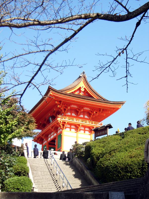 On the way to Kiyomizu Temple