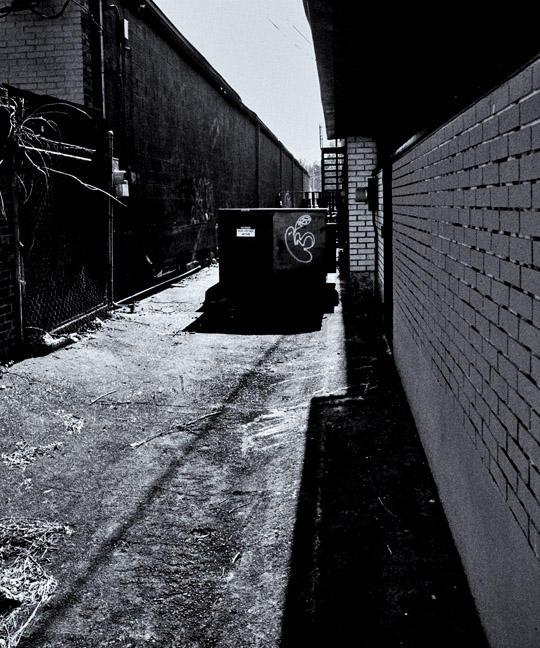 Alley in Gangland