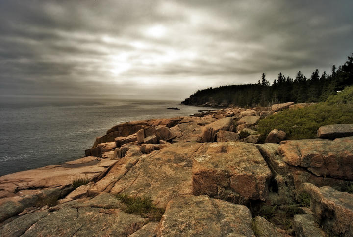 Acadia, Rocks and Light