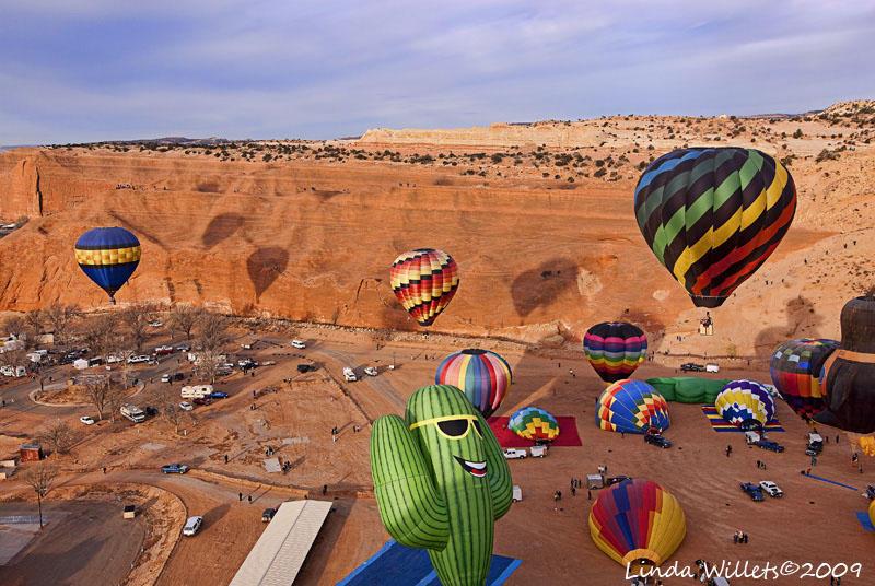 Gallup Balloon Rally- 2009- Saturday