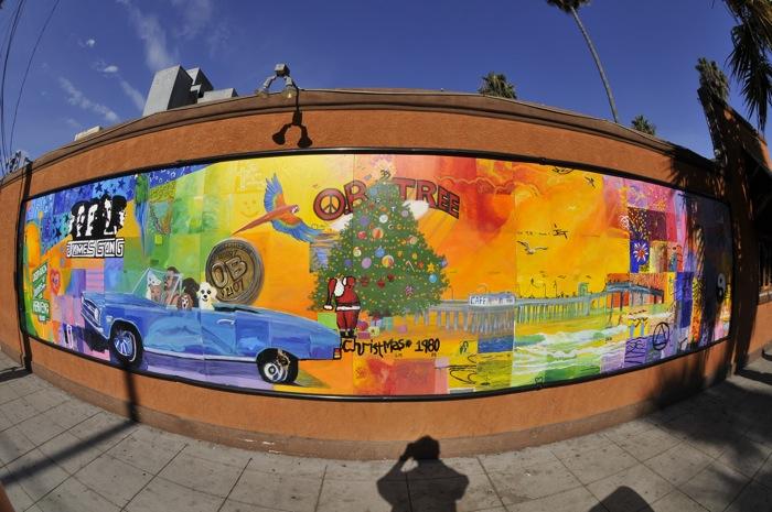 Mural on Bacon Street