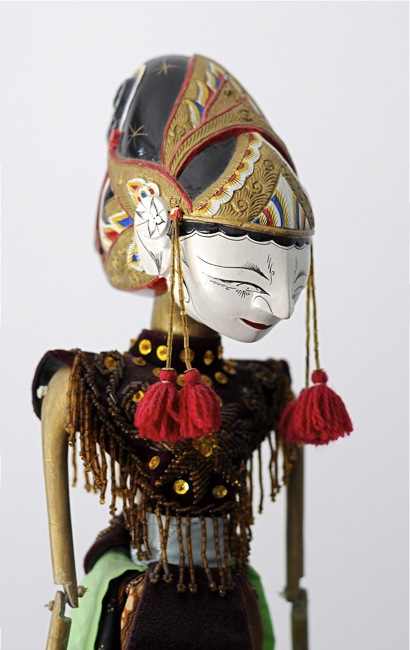 Wayang Golek Puppet - Yudistira