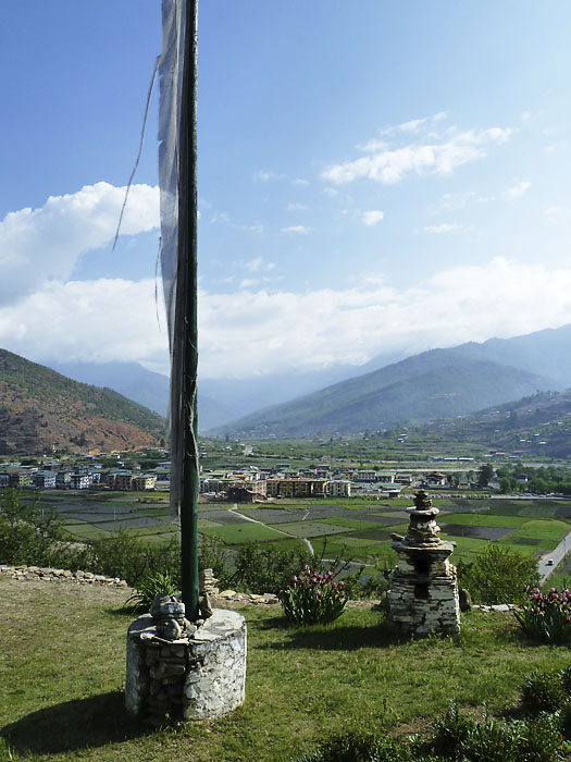 Paro Town and Valley