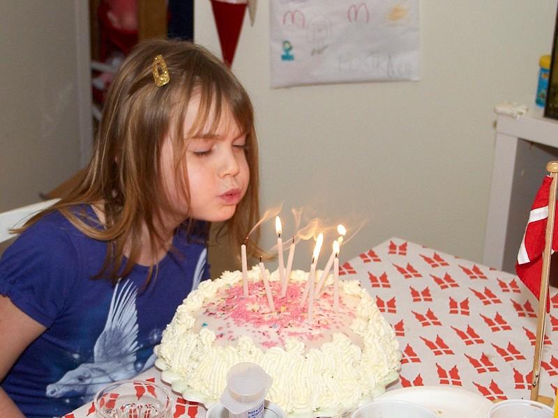 2009-12-06 Sandras birthday cake