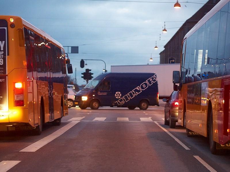 2009-12-12 Driving in Copenhagen