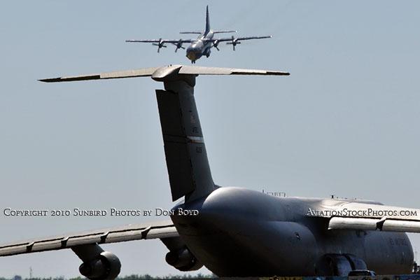 USMC Blue Angels C-130T Fat Albert (New Bert) #164763 military air show aviation stock photo #6228