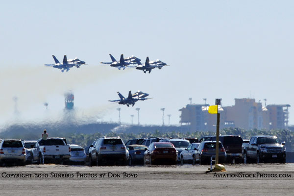 The Blue Angels at Wings Over Homestead practice air show at Homestead Air Reserve Base aviation stock photo #6237