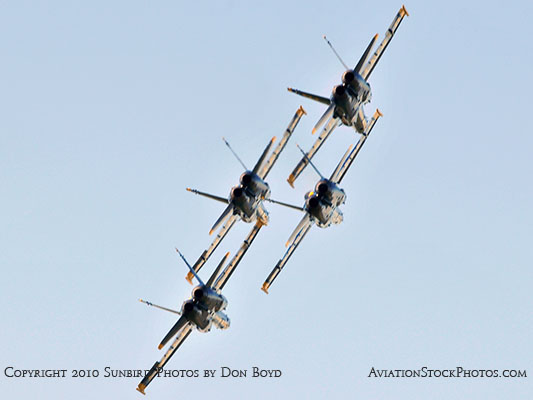 The Blue Angels at Wings Over Homestead practice air show at Homestead Air Reserve Base aviation stock photo #6245