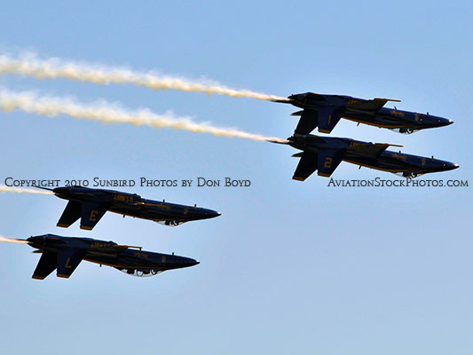 The Blue Angels at Wings Over Homestead practice air show at Homestead Air Reserve Base aviation stock photo #6250