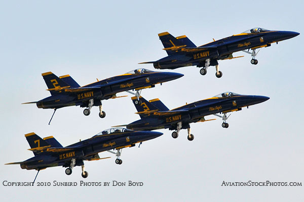 The Blue Angels at Wings Over Homestead practice air show at Homestead Air Reserve Base aviation stock photo #6257