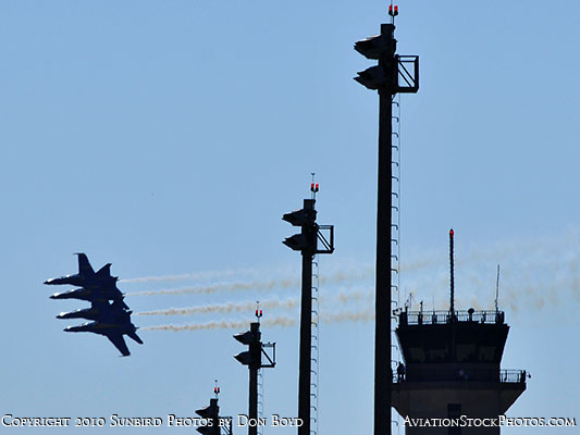 The Blue Angels at Wings Over Homestead practice air show at Homestead Air Reserve Base aviation stock photo #6267