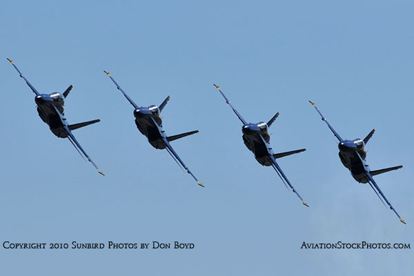 The Blue Angels at Wings Over Homestead practice air show at Homestead Air Reserve Base aviation stock photo #6273