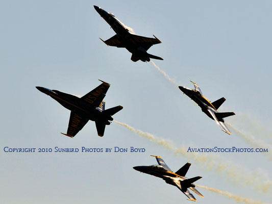 The Blue Angels at Wings Over Homestead practice air show at Homestead Air Reserve Base aviation stock photo #6297