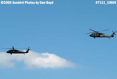 USAF H-60s Blackhawks military aviation stock photo #7111