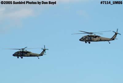 USAF H-60s Blackhawks military aviation stock photo #7114