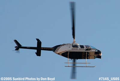 Miami-Dade Police Department Bell 206-L4 Jet Ranger N405MP aviation stock photo #7145