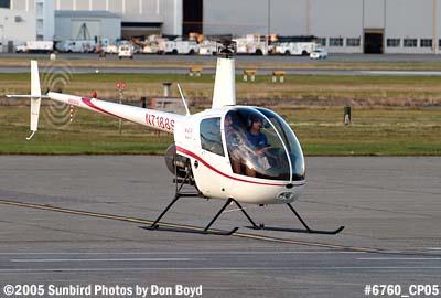Matthew Spitzers Robinson R22 Beta N7188S airline aviation stock photo #6760