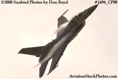USAF F-16 East Coast Demo at the Great Tennessee Air Show at Smyrna aviation stock photo #1752