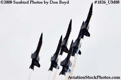 The Blue Angels at the 2008 Great Tennessee Air Show at Smyrna aviation stock photo #1826