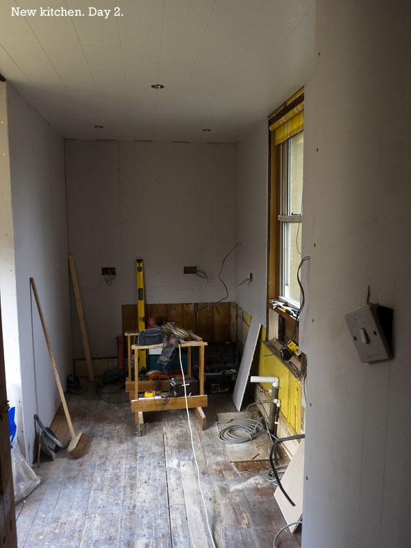 1446. New kitchen, day 2