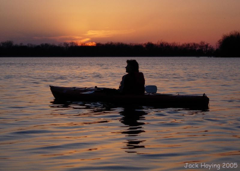 Sunset on Lake Loramie