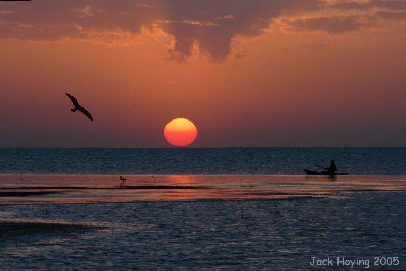 Sunset on Fiesta Key, Florida